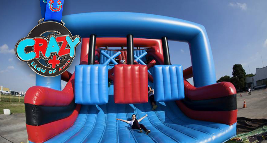 Crazy + Blow Up Race: a corrida mais divertida do ano